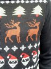 Black Santa - Christmas Fairisle Jumper